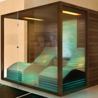 Combined sauna for Easy style