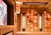 Combined sauna on topfloor