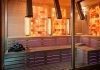 Combined sauna with chromotherapy
