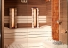 Combined sauna with Himalaya salt
