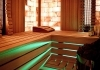 Combined sauna with Himalayan salt