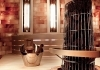 Design sauna with Himalayan salt therapy