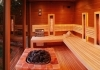 Finnish sauna with bio steam generator