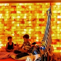 Himalayan salt room for children
