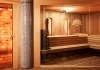 Indoor sauna wellness spa Budapest