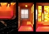 Infrared sauna and steam sauna