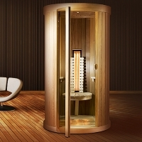 Infrared sauna at home