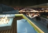 lounge, sauna, whirlpool on the top of the city