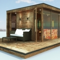 Lugano Comfort Luxury Sauna House