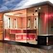 Luxury sauna house