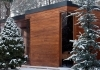 Outdoor sauna house