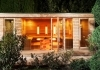 Sauna wellness house