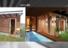 Sauna wellness terrace 3D realistic planning